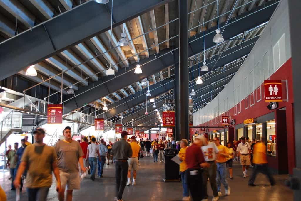 Byrd Stadium Concourse